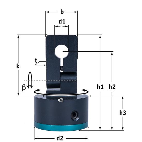 Picotronic MULTI-MOUNT-20(45x75)